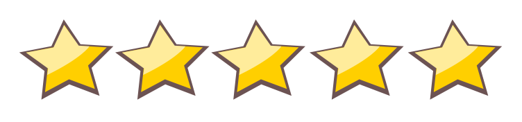 five star rating Orange