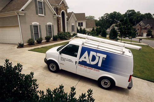 ADT Merced California Home Security Van