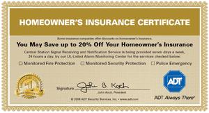 ADT insurance guarantee