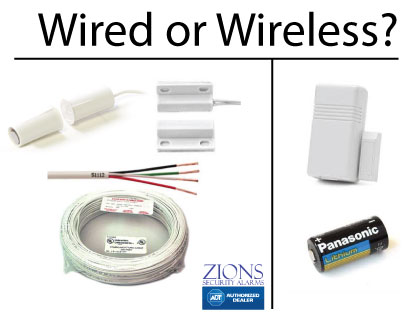 Should I get a wired home security system or a wireless ...