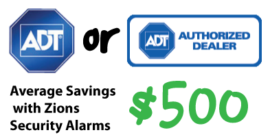 zions security adt dealer savings