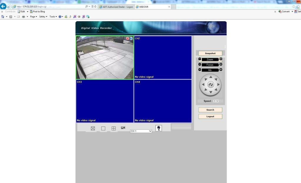 dvr remote management system mac