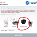 ADT Pulse Indoor Low-Light Wireless Camera iCamera-1000