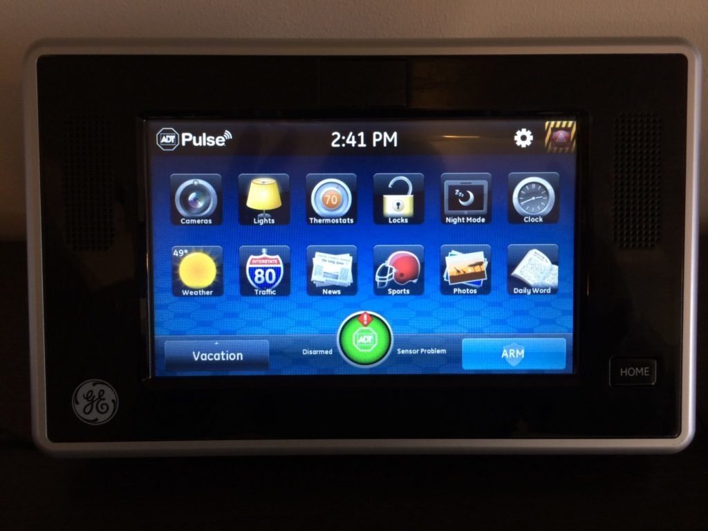Adt Pulse 7 Quot Touchscreen Keypad Ge Is Ts 0700 B