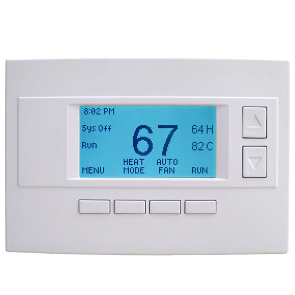ADT Pulse Z-Wave Wired RCS Thermostat Model TZ45