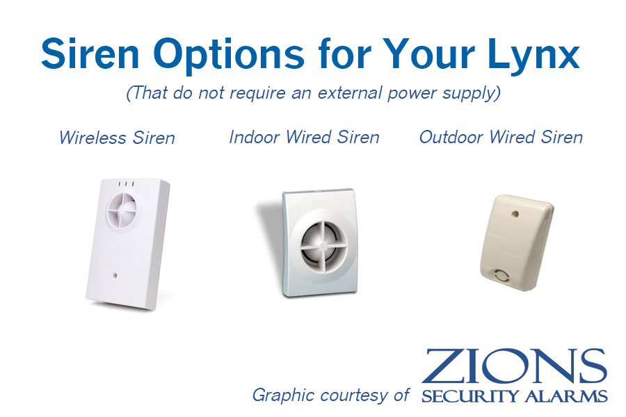 siren options how to add an external siren to a honeywell lynx quick connect panel honeywell lynx wiring diagram at soozxer.org