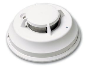 DSC Wireless Smoke and Heat Detector