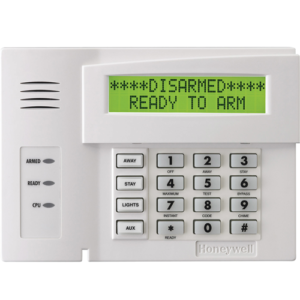 The Honeywell Hardwired Alpha Keypad