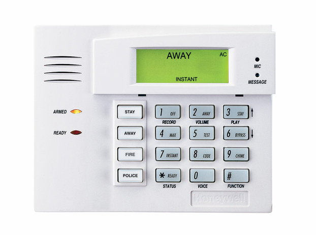 honeywell hardwired basic keypad 100. Black Bedroom Furniture Sets. Home Design Ideas