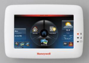 Honeywell Tuxedo touch keypad