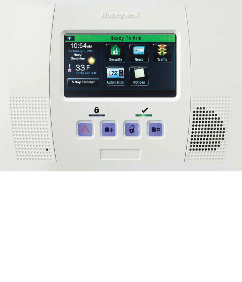 honeywell lynx touch l5200 zions security alarms adt authorized dealer. Black Bedroom Furniture Sets. Home Design Ideas