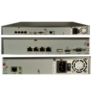 4 channel professional nvr