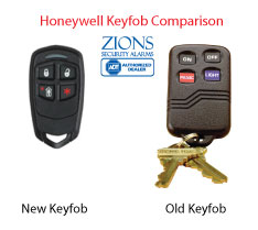 honeywell keyfob comparison