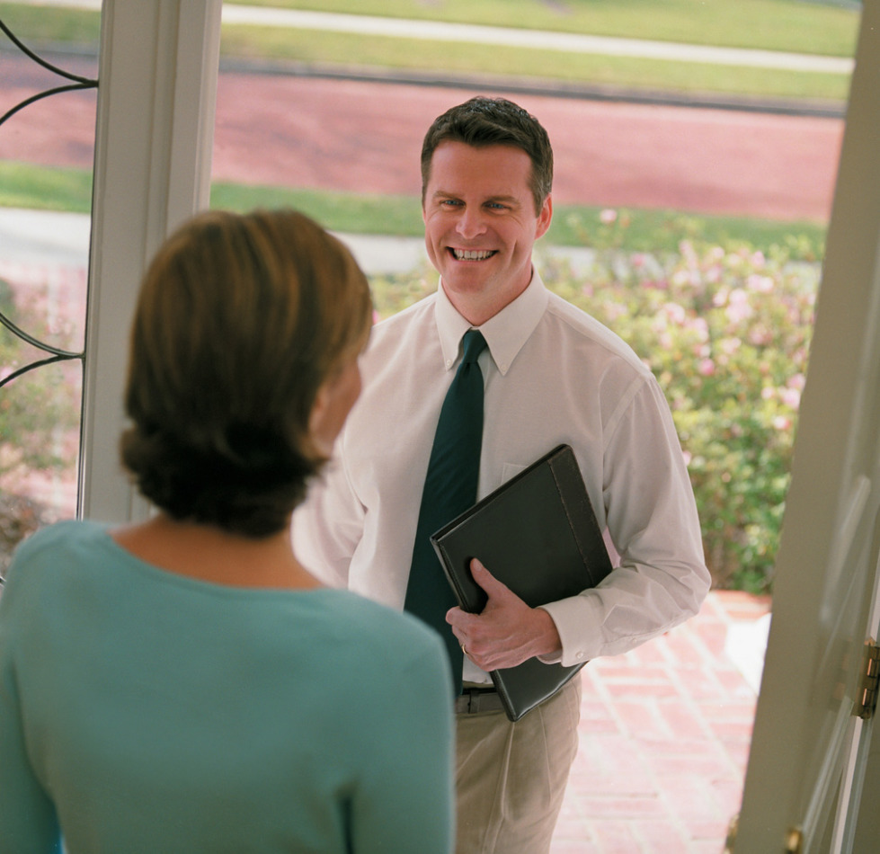 Are you prepared for the pushy door to door sales people this summer?