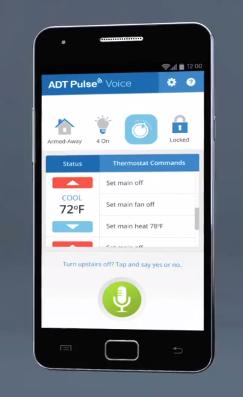 adt pulse voice change temp