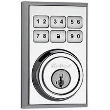 Contemporary Deadbolt chrome