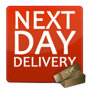 Overnight Delivery (Next Business Day) typically by p.m. Choose this option when overnight delivery the next afternoon meets your needs. Ideal for packages that need to be delivered by the end of .
