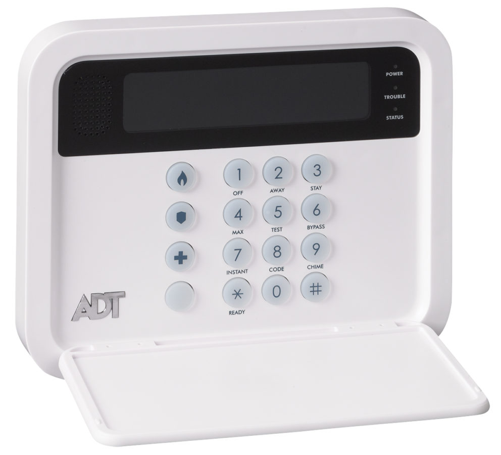 Low Voltage Keypad : Adt ts keypad wall mount plate for pulse system