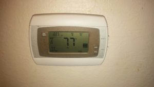 Current Innovations Z-Wave Touchscreen Thermostat CI300Z