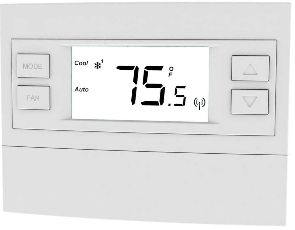 Adt Pulse Z Wave Wired And Battery Powered Rcs Thermostat Tbz48 Honeywell Wiring With Two Wires