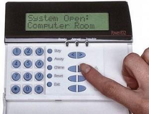 old dsc keypad