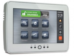 dsc touchscreen keypad