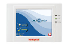 honeywell old color touchscreen