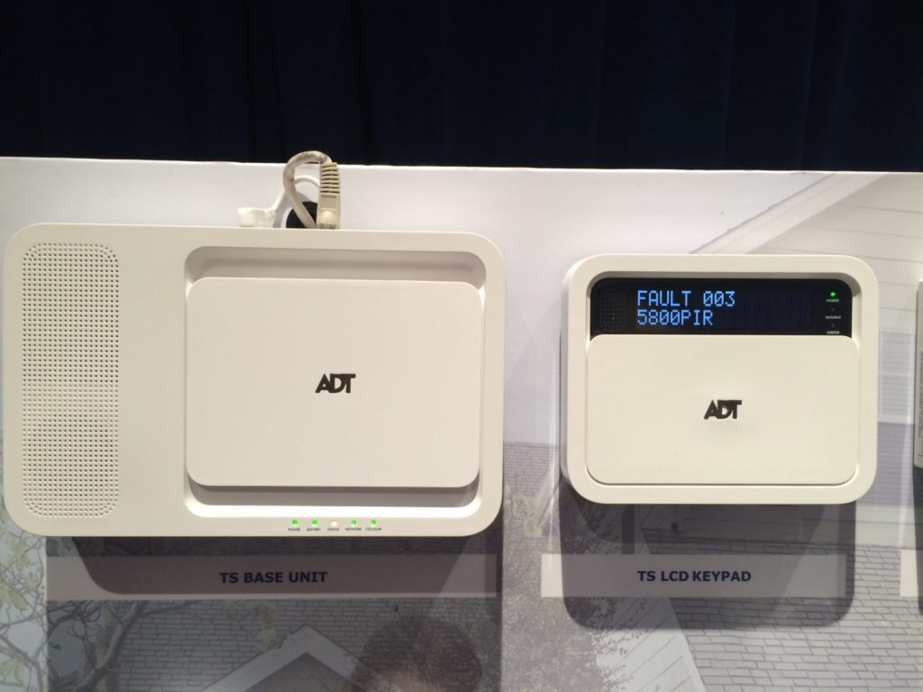 adt ts panel base station and keypad