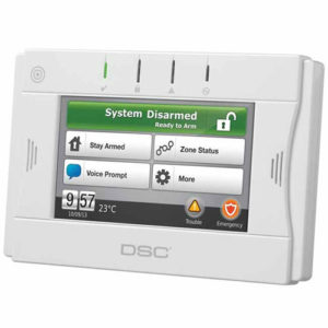 DSC ADT Wireless Touchscreen Keypad