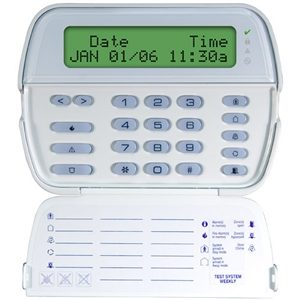 DSC Powerseries LCD Full Message Keypad