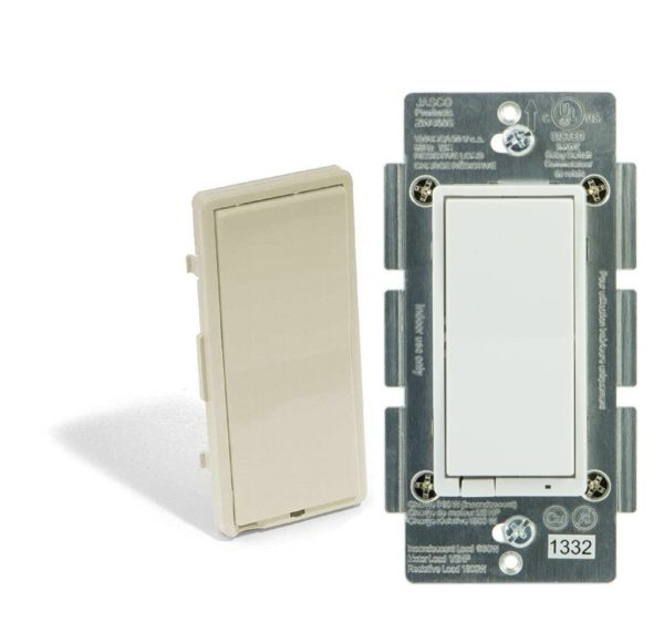 ADT Pulse Light Switch Jasco In-Wall Decora on/off