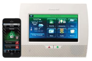 Lynx 7000 Touchscreen Keypad Panel