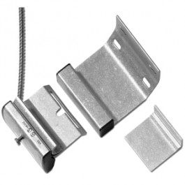 ADT Overhead Door Hardwired Track Mount Magnetic Contact