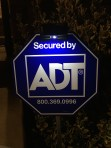 ADT Solar Yard Sign Light with 3 LEDs