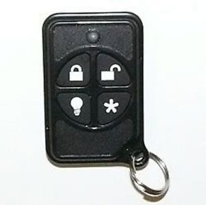ADT GE Wireless Keychain Remote Micro Keyfob