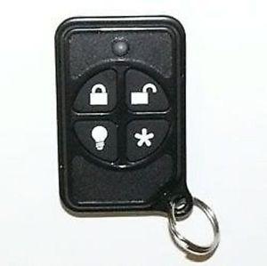 ADT GE Wireless Keychain Remote Micro Keyfob