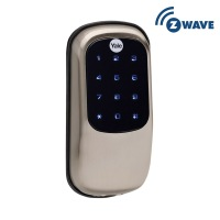 Yale keyless touchsceen deadbolt for Adt z wave door lock