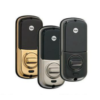 Yale Push Button Keyless Deadbolt back