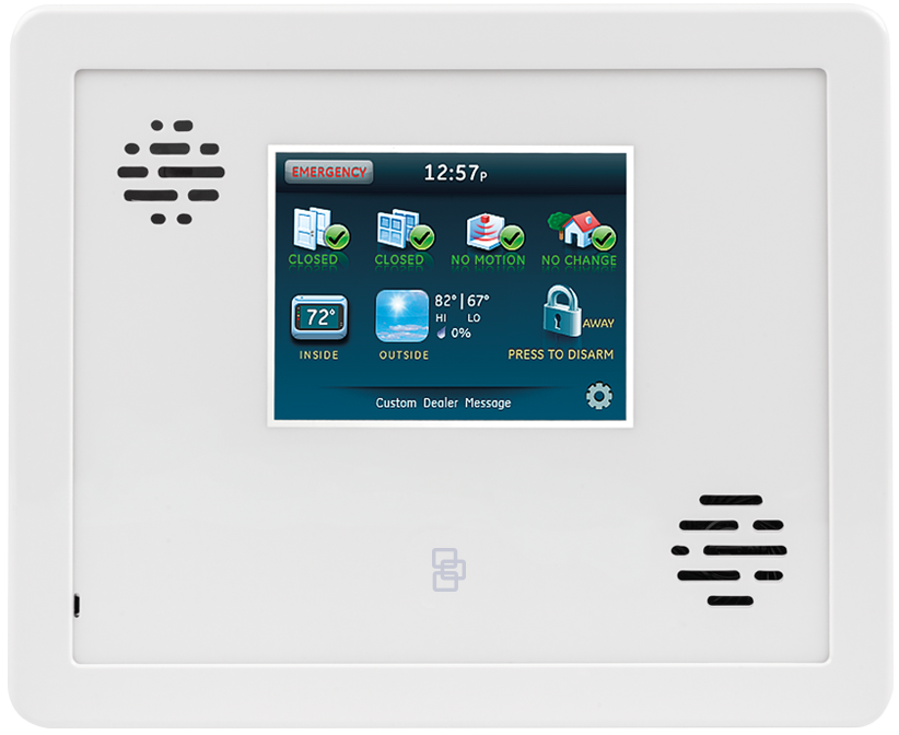 Adt Home Security Systems >> GE Interlogix Simon Xti Control Panel and Touchscreen Keypad