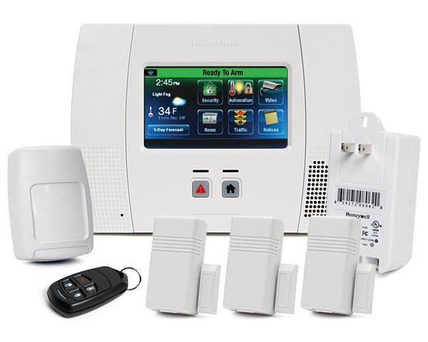 Adt Home Security Systems >> Lynx Touch 5200 Kit