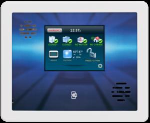 GE Interlogix Simon Xti Control Panel and Touchscreen Keypad