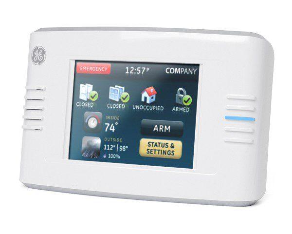 GE Interlogix Wireless Touchscreen Keypad