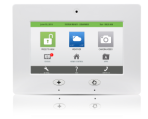 Qolsys Iq Touchscreen Panel Zions Security Alarms Adt