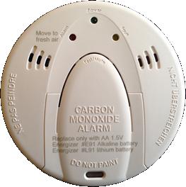 Qolsys Wireless Carbon Monoxide Detector