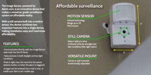Qolsys Image Sensor