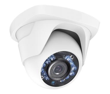 HD-TVI Turret Dome Camera 1.3MP 2.8mm Fixed Lens