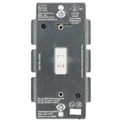 ADT Pulse Jasco Toggle In-wall White Aux Light Switch