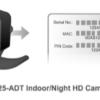 ADT Pulse RC8325-ADT Indoor Night HD Camera