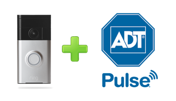 Ring Doorbell and ADT Pulse