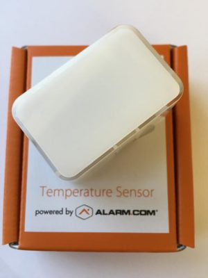 alarm.com temperature sensor
